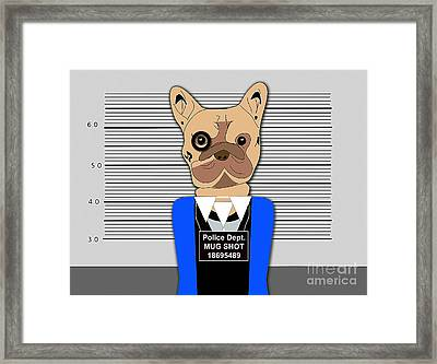 Bad Bad Dog Framed Print by Marvin Blaine