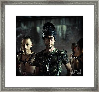Framed Print featuring the photograph Bad Boys by Michel Verhoef