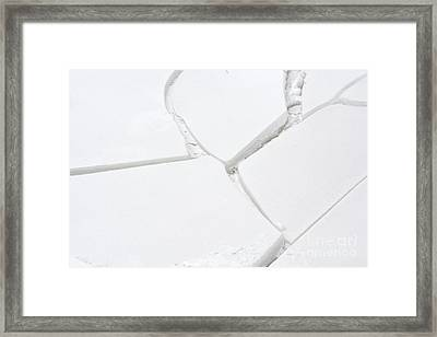 Framed Print featuring the photograph Bad Connection by Randy Bodkins