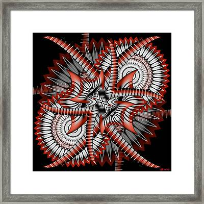 Bad Decisions New Start 2 Framed Print