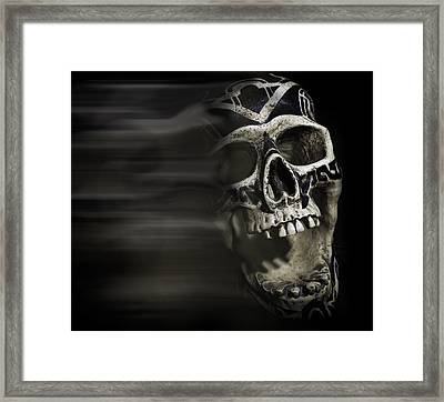 Bad Dreams  Framed Print by Rollie Robles