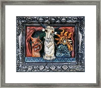 Bad Folks Framed Print by Gregory Dyer