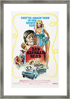 Bad Georgia Road, L-r Gary Lockwood Framed Print by Everett