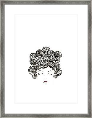 Bad Hair Day 30 Framed Print