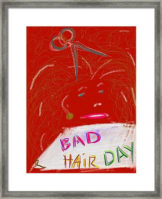 Bad Hair Day Framed Print by Richard Fruge