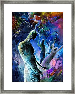 Bad Herbs 02 Framed Print by Miki De Goodaboom