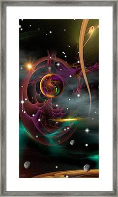 Bad Moons Arisin' Framed Print by Phil Sadler