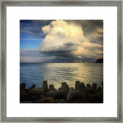 Good News Is On The Way  Framed Print