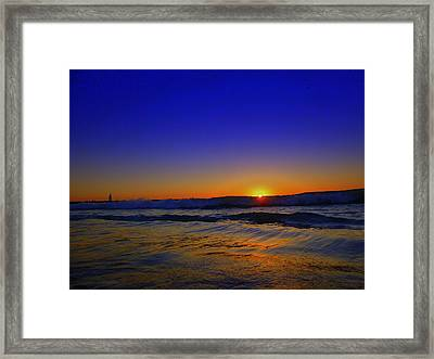 Bad Sunny Day  Framed Print