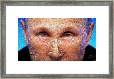 Bad Vlad The Sad Cad Framed Print by Joe Paradis