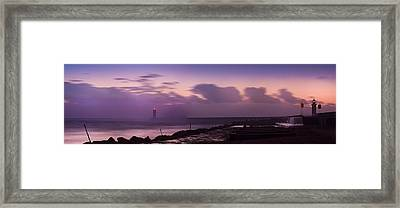 Bad Weather In Oporto 2014 Framed Print