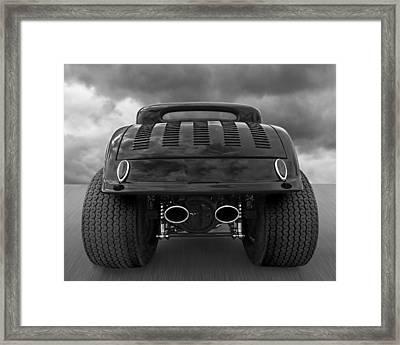Badass Framed Print by Gill Billington