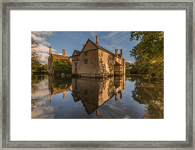 Baddesley Clinton Framed Print by Chris Fletcher