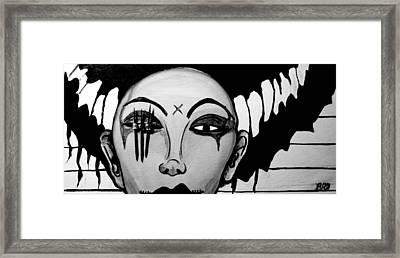 Badeye Framed Print