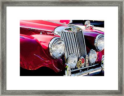 Badge Of Honor Framed Print