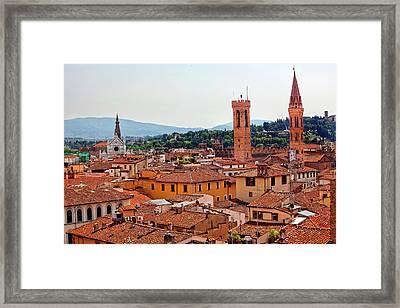 Badia Florentina Bargello Palace Framed Print