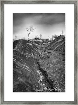Badlands 3 Framed Print
