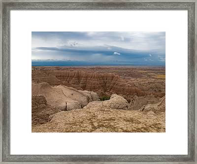 Badlands South Dakota Framed Print