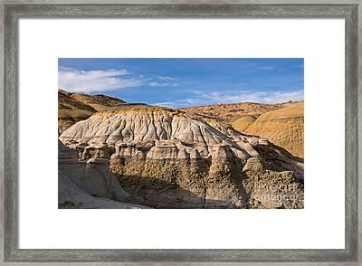 Badlands Erosion Framed Print by Vivian Christopher