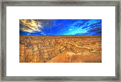 Badlands  Framed Print by Jim Boardman