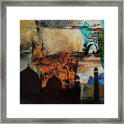 Badshahi Mosque Framed Print