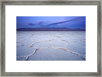 Badwater Dawn Framed Print