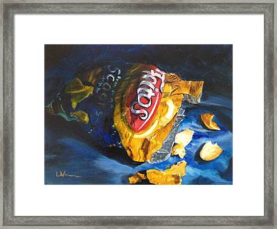 Bag Of Chips Framed Print