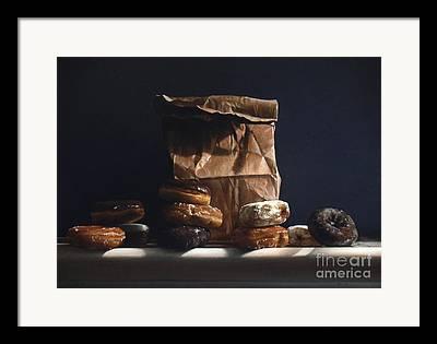 Pastry Bag Framed Prints