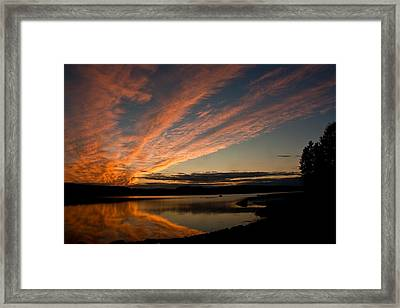 Bagaduce Sunset Framed Print