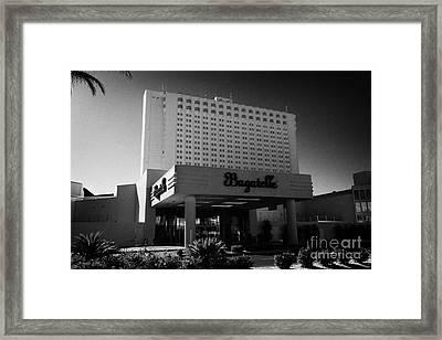 bagatelle beach and nightclub at the tropicana Las Vegas Nevada USA Framed Print
