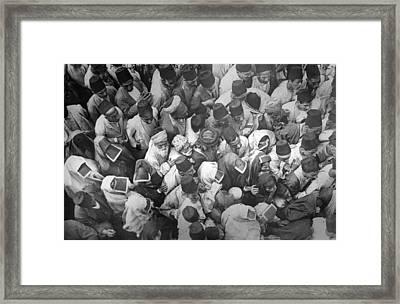 Baghdad Crowd Framed Print