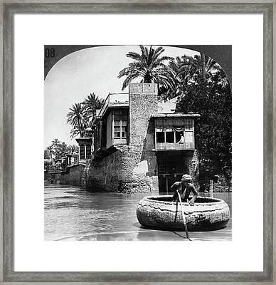 Baghdad Tigris, C1914 Framed Print by Granger