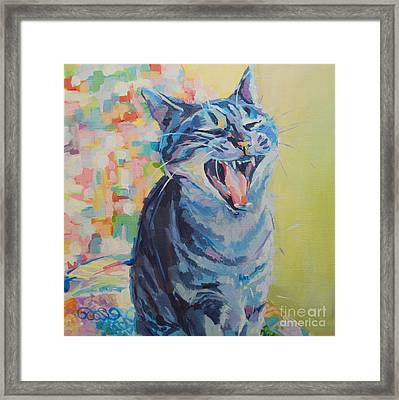 Bah Humbug Framed Print by Kimberly Santini