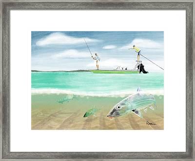 Bahama Bones Framed Print