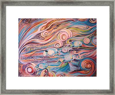 Bahama Fish Framed Print