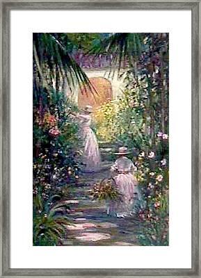 Bahama Garden Framed Print