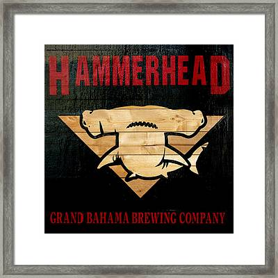 Bahamas Beer Sign Framed Print by Ken Reardon
