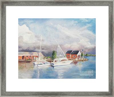Bahamas Harbor Framed Print