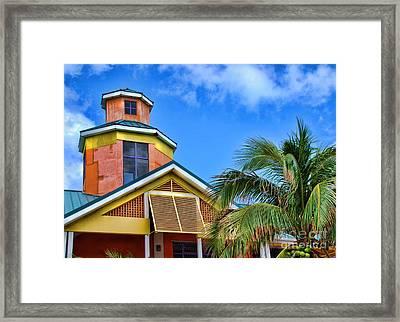 Bahamas Pastels Framed Print by Alexandra Jordankova