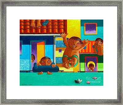 Bahana Republic Framed Print by Paul Hilario