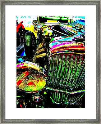 Bahre Car Show 156 Framed Print