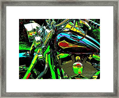 Bahre Car Show 223 Framed Print