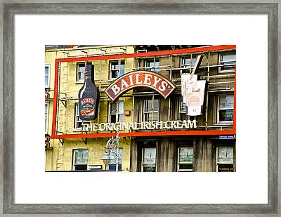 Baileys Irish Cream Framed Print