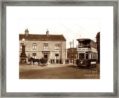 Bailiff Bridge Brighouse England Framed Print by The Keasbury-Gordon Photograph Archive
