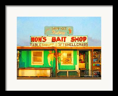 Delta Town Framed Prints