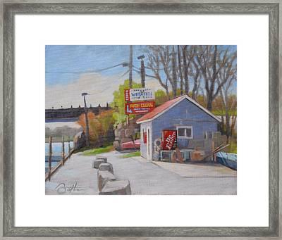 Bait Shop Framed Print by Todd Baxter