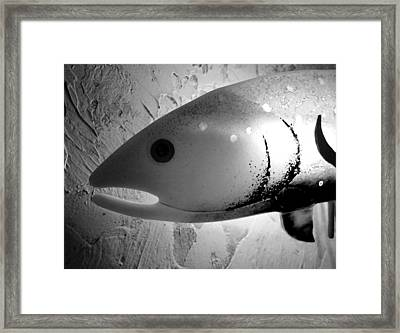 Bait With Your Heart  Framed Print by Patricia Januszkiewicz
