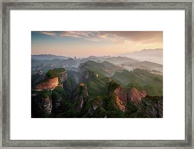 Bajiaozhai Park Framed Print