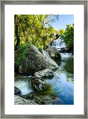 Bajouca Waterfall II Framed Print by Marco Oliveira