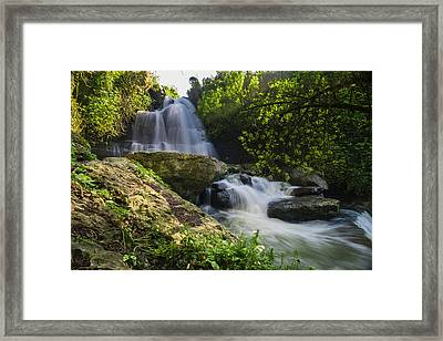 Bajouca Waterfall IIi Framed Print by Marco Oliveira